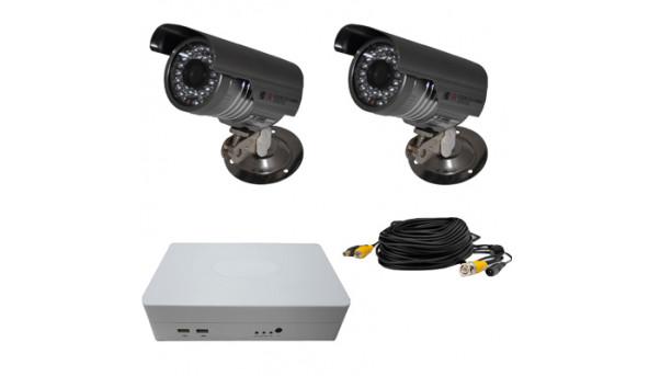 Комплект відеоспостереження ATIS KIT-DVR-0x2 ECONOM IR