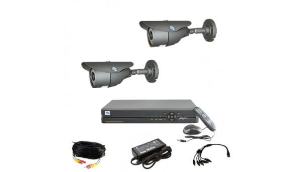 Комплект відеоспостереження ATIS KIT-DVR-0x2 STANDART