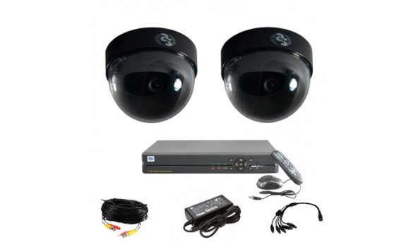 Комплект відеоспостереження ATIS KIT-DVR-2x0 STANDART