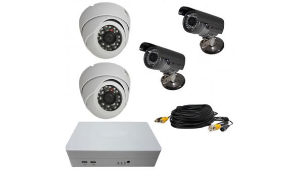 Комплект відеоспостереження ATIS KIT-DVR-2x2 ECONOM IR