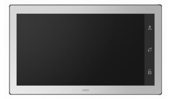 IP видеодомофон ARNY AVD-1040 WiFi White