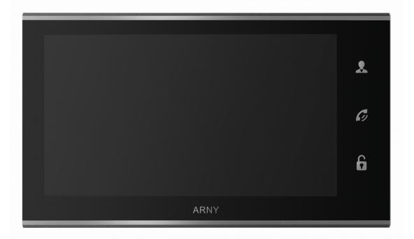 IP видеодомофон ARNY AVD-730 2MPX WiFi Black