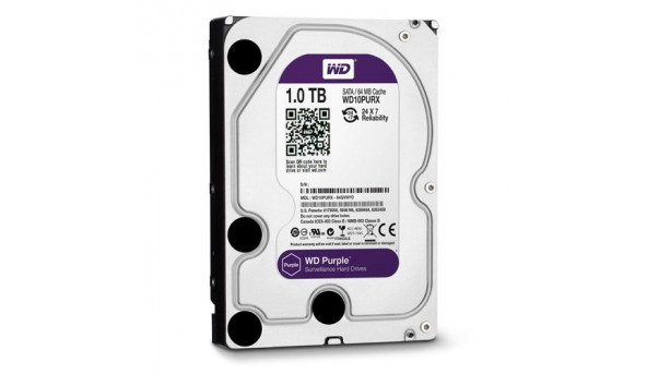 Жорсткий диск Western Digital Purple 1TB