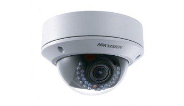 4МП IP видеокамера Hikvision с ИК подсветкой