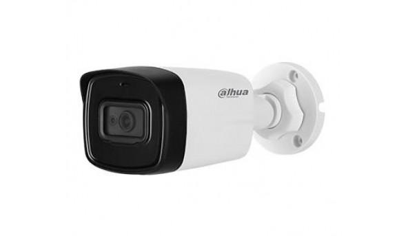 4K HDCVI видеокамера Dahua с встроенным микрофоном