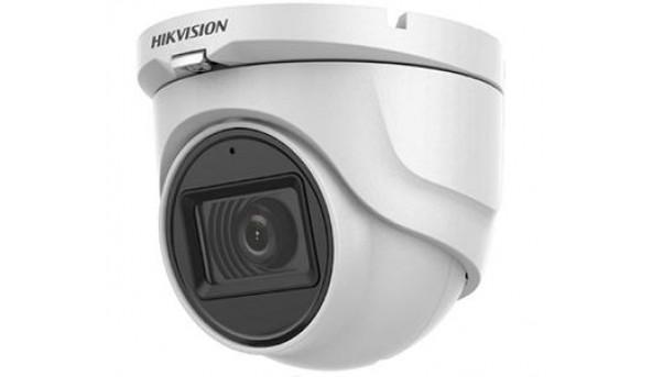 2Мп Turbo HD видеокамера Hikvision с встроенным микрофоном