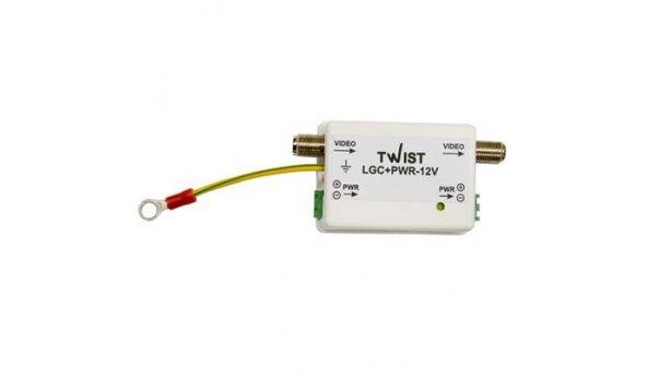 Twist-LGC+PWR12V грозозащита на коаксиал