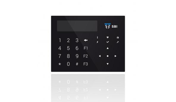 Клавіатура Оріон К-GLCD (чорна)