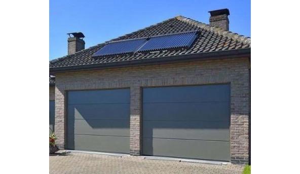 Секційні гаражні ворота Alutech Classic 5000×2335