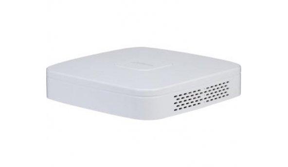 4-канальный AI сетевой видеорегистратор с PoE