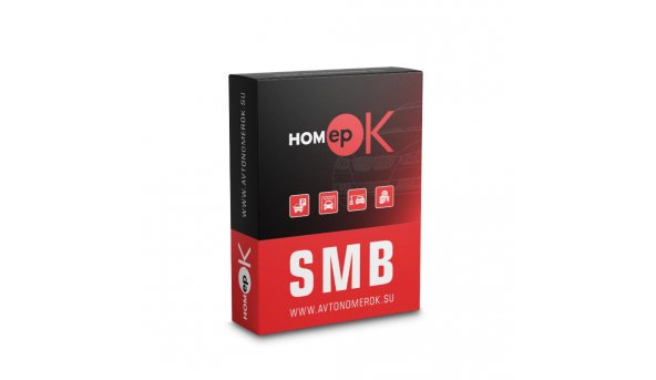 ПО для распознавания автономеров HOMEPOK SMB 1 канал для управления СКУД