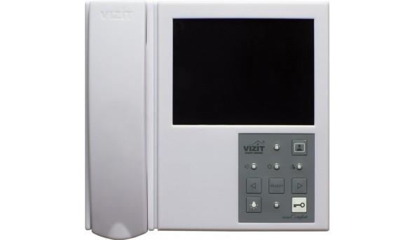 Двоканальний монітор відеодомофона VIZIT-M406