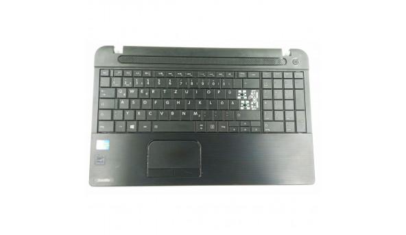 Середня частина корпуса + клавіатура та тачпад для ноутбука Toshiba Satellite C50D-A-133, 13N0-CKA0L01, б/в відсутні клавіши на клавіатурі