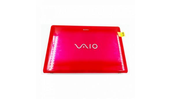 """Кришка матриці для ноутбука Sony Vaio VPC-EB series, VPCEB3E4R, PCG-71211V, 15.6"""", 012-000A-3030-A, б/в. Кріплення цілі, є подряпинки"""