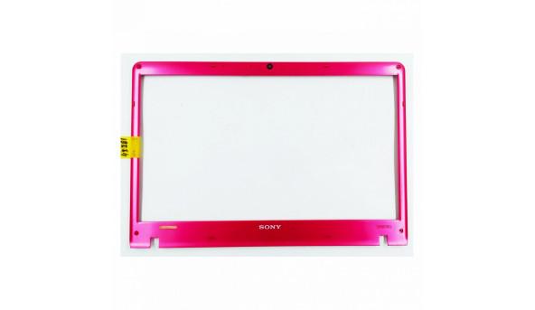 """Рамка матриці корпуса для ноутбука Sony VAIO PCG-71211M, 15.5"""", 012-100A-3017-B, Б/В. Всі кріплення цілі."""