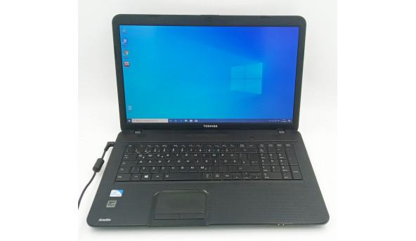 """Великий Мультимедійний ноутбук Toshiba Satellite с870-1gv, Intel B960 2.20 GHz., 4gb, 160gb, Intel HD Graphics, 17.3"""" (1600x900)"""