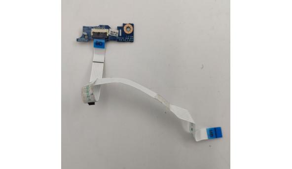Кнопка включення для ноутбука Toshiba satellite C55-A, C50D, C50, PT10 6 BTN BRD REV 2.1 CKC10B01, Б/В