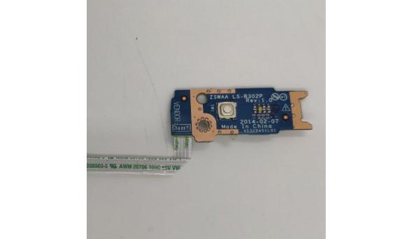 Кнопка включення для ноутбука Toshiba Satellite C55, LS-B302P, б/в
