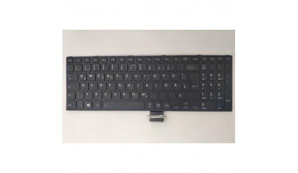 Клавіатура для ноутбука Toshiba Satellite C55-B5200, C55-B5201, PK1315F1A15, PK1315F1A04, NSK-V80SC, NSK-VA0SC, Б/В