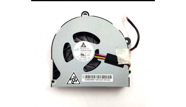 Вентилятор системи охолодження для ноутбука TOSHIBA Satellite P855 P855-S5200, DC28000ARD0, KSB06105HB, AB0705HX12BB00, Б/В
