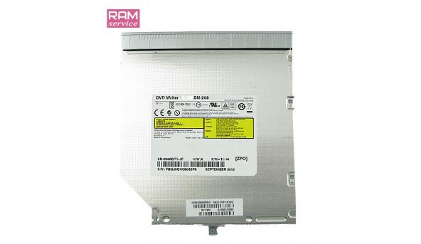 CD/DVD привід для ноутбука, SATA, TOSHIBA Satellite P875, KCC-REM-TSS-SN208, Б/В, в хорошому стані, без пошкоджень.