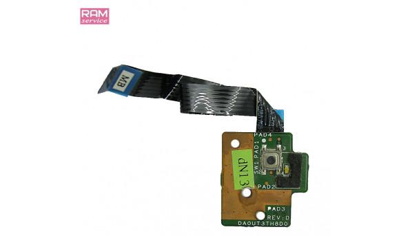 Кнопка включення, для ноутбука, HP Pavilion dv6, DA0UT3TH8D0, Б/В, в хорошому стані, без пошкоджень