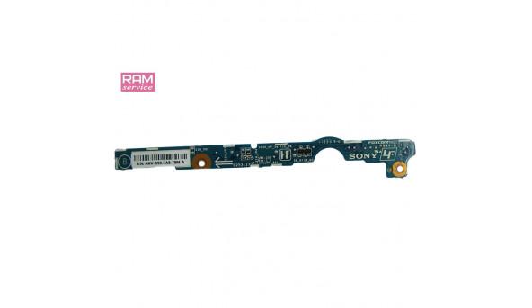 Кнопка включення з кнопками управління, для ноутбука, Sony VAIO PCG-4121EM, REV 1, 1P-110CJ05-4011, Б/В, в хорошому стані, без пошкоджень