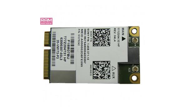Адаптер 3G, знятий з ноутбука, Sony VAIO PCG-4121EM, 1-458-371-12, T77Z204.32 HF, Б/В, в хорошому стані, без пошкоджень