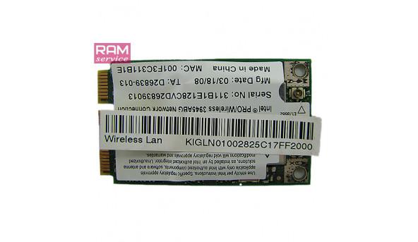 Адаптер WI-FI, знятий з ноутбука, Acer Extensa 5620G, Anatel 0151-06-2198, Б/В, в хорошому стані, без пошкоджень
