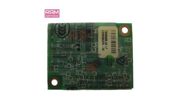 Modem board, знятий з ноутбука, Acer Extensa 5620G, T60M955.00, Б/В, в хорошому стані, без пошкоджень.