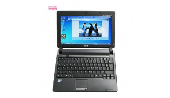 """Вірний помічник, який завжди під рукою нетбук, Acer Aspire One Pro, 10.1"""", Intel Atom N270, 2 Gb, 160 Gb, Intel GMA 950, Windows 7, Б/В"""