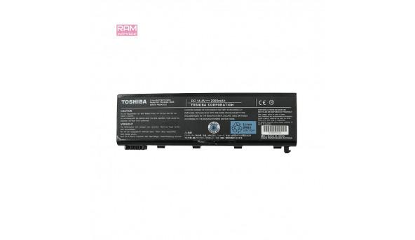 Батарея, акумулятор, Toshiba PA3450U-1BRS, для ноутбука Satellite L100-103, Satellite L100-104, Satellite L100-105, Satellite L100-111, Satellite L100-112, Li-ion Battery, 2000mAh, 14.4V, Б/В, робоча, 10% зносу