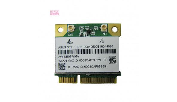 """Адаптер WI-FI, для ноутбука, Asus X54H, 15.6"""" , AW-NB097, Б/В, В хорошому стані, без пошкоджень"""