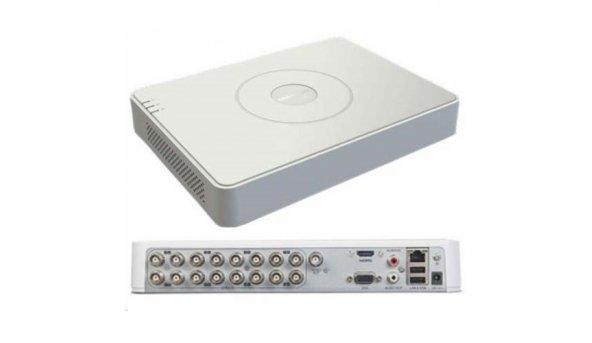 16-канальний Turbo HD відеореєстратор Hikvision DS-7116HQHI-K1
