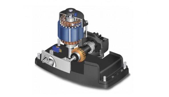 Mini комплект Roger Technology H30/640 для откатных ворот массой до 600 кг с механическими концевыми выключателями