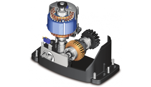 Maxi комплект Roger Technology KIT R30/805 для откатных ворот весом до 800 кг с механическими концевыми выключателями