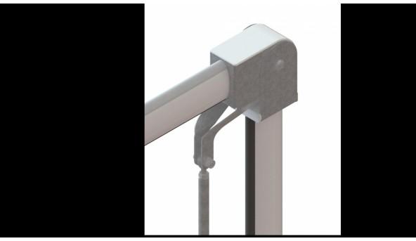 Кронштейн шарнирный для складывания стрелы Roger Technology SND/BA/68/DW