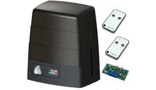Автоматика Roger Technology KIT BM30/300HS «Brushless», High Speed для откатных ворот весом до 500 кг с механическими концевыми выключателями