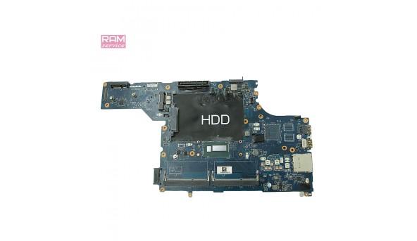 Материнська плата, для ноутбука, Dell Latitude E5540, LA-A101P REV.1.0, Впаяний процесор INTEL Core i5-4200U (SR170), НЕ тестована. Продається на запчастини, або під відновлення, Б/В