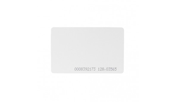 Бесконтактная карта Tecsar Trek EM-Marine 08 мм белая