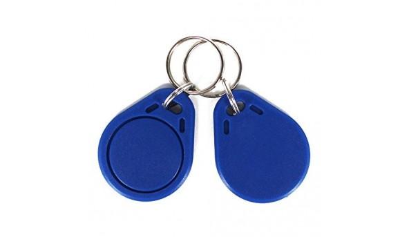 Набор 100 шт. Ключ-брелок Tecsar Trek EM-Marine синий