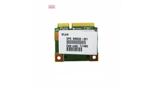 """Адаптер WI-FI, знятий з ноутбука, HP 250 G3, 15.6"""", 690020-001, Б/В, в хорошому стані, без пошкоджень"""