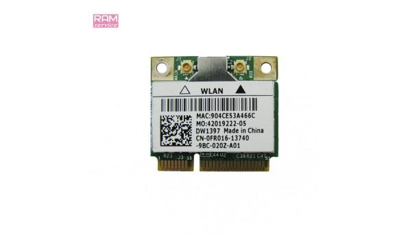 """Адаптер WI-FI, знятий з ноутбука, Dell Studio 1555 (PP39L), 15.6"""", CN-0FR016, Б/В, в хорошому стані, без пошкоджень"""