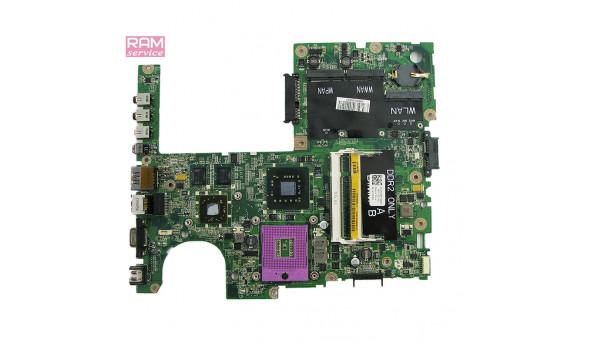 """Материнська плата, для ноутбука, Dell Studio 1555 (PP39L), 15.6"""", CN-0C235M, Б/В, Стартує, не виводить зображення, битий міст."""