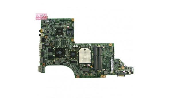 """Материнська плата, для ноутбука, HP Pavilion DV7-4131SA, 17.3"""", DA0LX8MB6D1 rev.D, Б/В, Не запускається, Продається на запчастини, або під відновлення"""