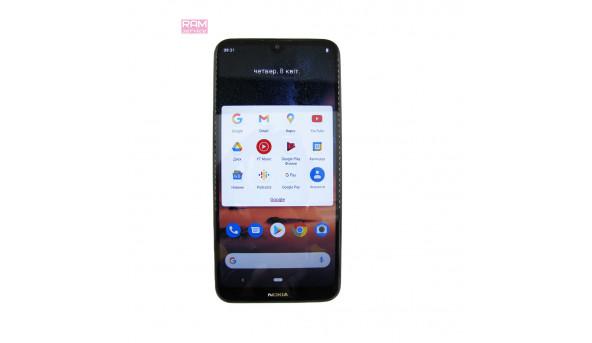 "Смартфон, Nokia TA-1164, 6.26"", Qualcomm Snapdragon 429, ОЗУ 3 ГБ, 32 ГБ, основна 13 Мп,  фронтальна 5 Мп, Android, Б/В"