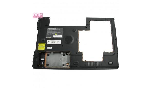 """Нижня частина корпуса, для ноутбука, Medion Akoya P8614, 18.4"""", 340826400013, Б/В,  Є сліди реставрації,  Є пошкодження (фото)"""