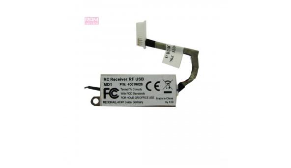 """Додаткова плата, Medion Akoya P8614, 18,4"""", для ноутбука, RC Receiver RF USB MD1, 40019026, Б/В, В хорошому стані, без пошкоджень"""