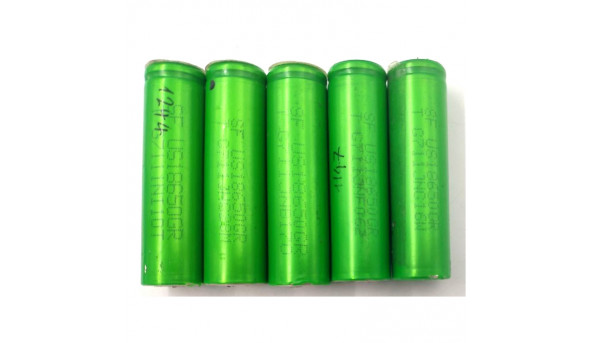 Акумулятор Sony US18650CR, G711JNG16W, фактична ємність від 1100 до 1250, Б/В