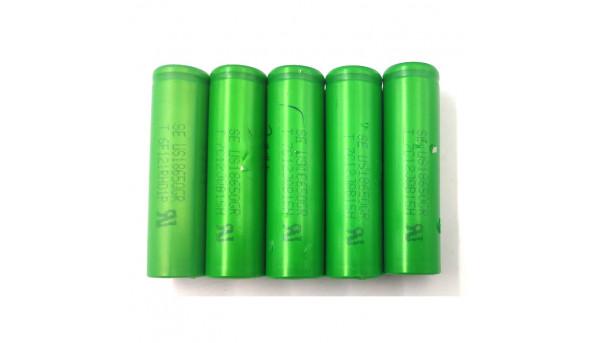 Акумулятор Sony US18650CR, G711JNG16W, фактична ємність - 1000 mAh, Б/В